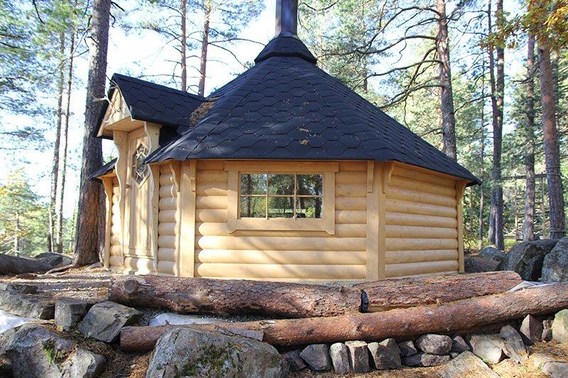 Muskegon Scandinavian Grill Huts Installation Preferred Lawn Care