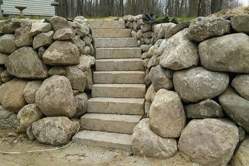 Buy High Quality Stones Mulch And Limestone For Landscaping In Muskegon
