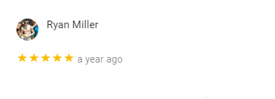 Ryan Miller Google Review